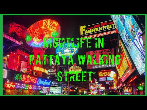 Pattaya Strolling Avenue 2020 | Nightlife