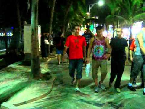PATTAYA, Seaside street 2010