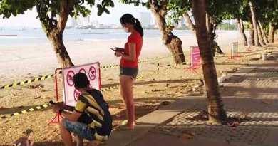 Pattaya Seaside Closed | Pattaya Seaside Street 2020 Dumb | Pattaya 2020 lockdown thailand 2020