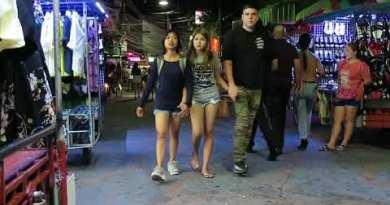 4 am on Strolling Avenue Pattaya