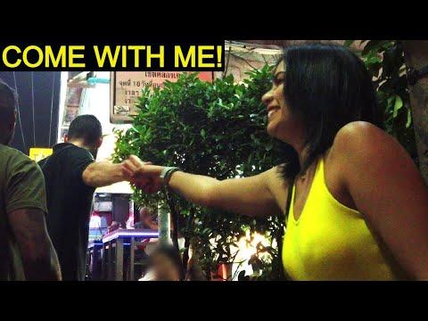 Bangkok Thailand – She stated: I similar to you… Very long time 1500 baht! – Vlog 367