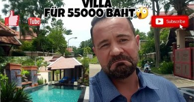 Pattaya Villa 55000 baht im Monat – 24/05/2021