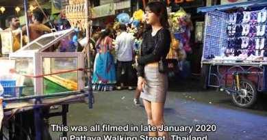 I Pattaya walking street l Fun in Thailand #Thailand #USA #tour of thailand