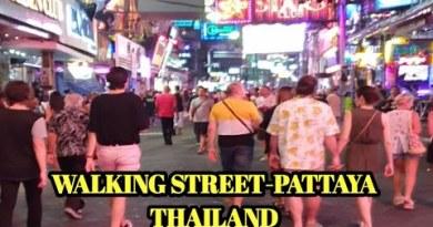 Strolling Boulevard Pattaya-Thailand