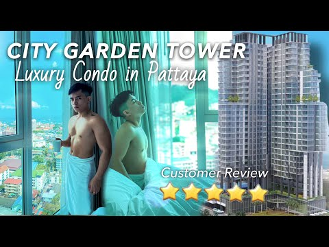 AFFORDABLE LUXURY CONDOMINIUM IN PATTAYA,THAILAND   CITY GARDEN TOWER