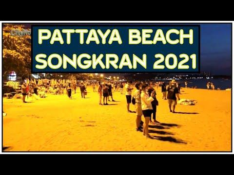 Songkran 2021 at Pattaya Seaside