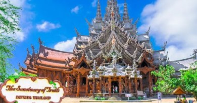 The Wood Temple, Sanctuary of Reality Pattaya Thailand