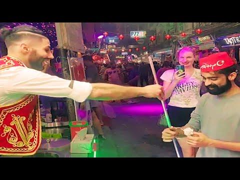 Supreme Buddha Gold Mountain in World, Pattaya Walking Twin carriageway Meals & Evening Existence Thailand Vbloging