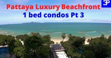Pattaya impress of residing 2021, Luxurious Beachfront 1 bed condos Pt 3
