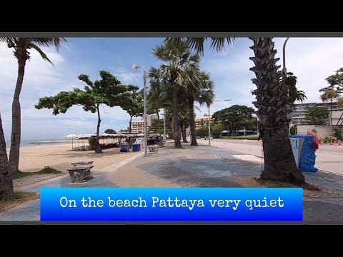 EP.5 strolling tour at Pattaya seashore motorway: mute coz COVID