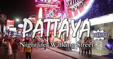 Strolling Avenue – Pattaya – Nightlife – Thailand – Ladies Kissing me 🤪