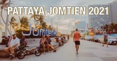 PATTAYA: Jomtien Seaside Street (Update June 2021) #pattaya #pattayatoday #jomtien