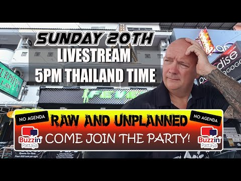 RAW & Unplanned Pattaya Chat Demonstrate. Come join this lighthearted conceal all about life in Pattaya City