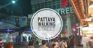 Pattaya | Strolling Facet freeway |  Night Life | Thailand |
