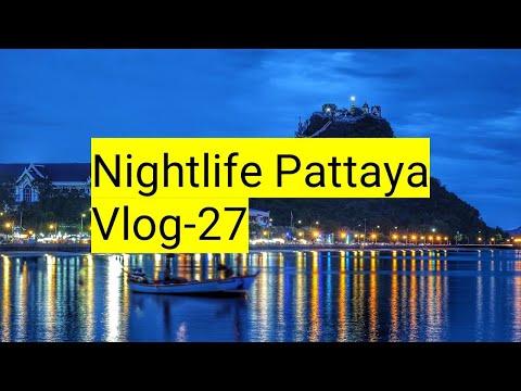 Nightlife Pattaya, Freelancers Pattaya, Beach Aspect road Pattaya, Walking toll road. Thai ladies, Pattaya.