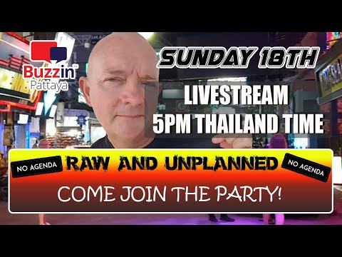 RAW & Unplanned Pattaya Chat Show. Approach join this lighthearted express all about life in Pattaya Metropolis