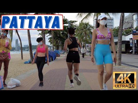 [4K] Pattaya Stroll, Coastline Facet road, Soi13/2, LK Metro, Soi Buakhao, Soi Recent Plaza