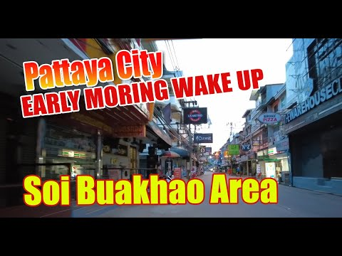 Pattaya Metropolis Morning fling. Soi Buakhao wakes up as we fling around and show you what goes on here