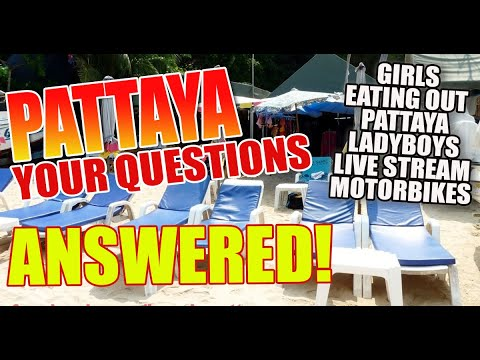 Pattaya City Chat Repeat – Your questions answered about Pattaya City and some distance more. April twenty first 2021