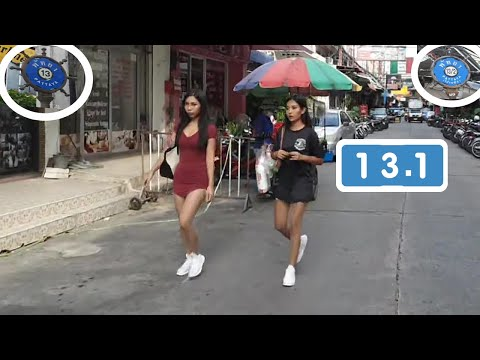 Thai Girls, Rubdown, August, Shoreline Road Pattaya, Soi 13.1, Soi 13.2, 3+4, Copyright express on Tune