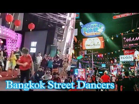 bangkok strolling avenue Dancers    Pattaya    strolling avenue    Thailand Bangkok