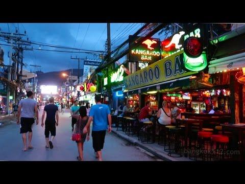 Bangla Avenue Early Night Stroll – Phuket, Thailand