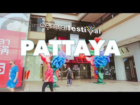 PATTAYA : First Day Reopened Browsing Mall  | September 2021