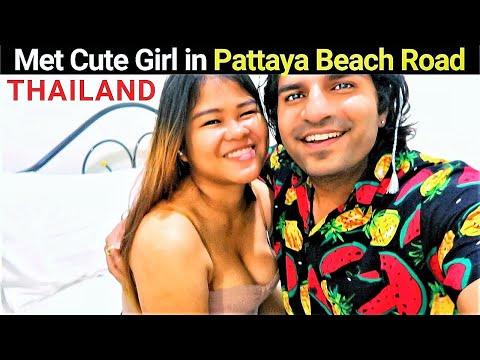 Closing Day in Thailand : Met Gorgeous Thai Lady on Pattaya Beach Thailand 🇹🇭