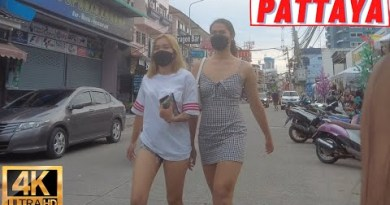 [4K] Pattaya Stroll, Soi Buakhao, Soi Honey, Beach Road, Pattaya Tai