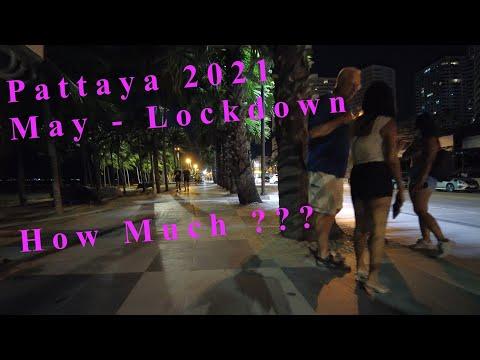 Pattaya Sea plug Night Scenes. Thailand, Could perchance perchance moreover impartial, 2021.  Buzzin Pattaya, Freelancers, Lockdown Station
