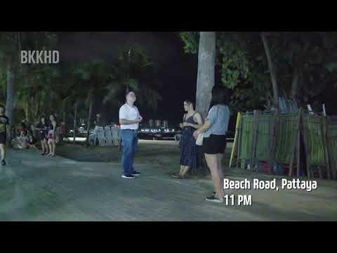 Pattaya Shoreline Avenue prostitute – August 2020