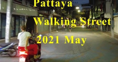 Pattaya Strolling Twin carriageway Night – Could per chance well, Thailand, 2021