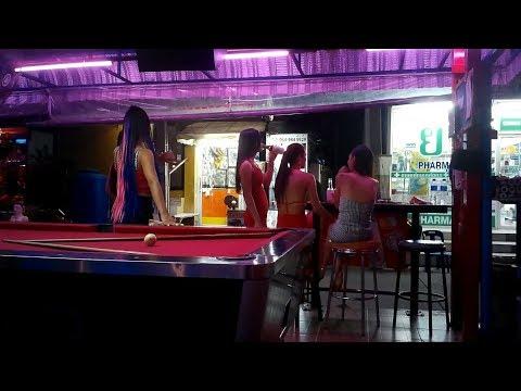 PATTAYA NIGHTLIFE   Anybody for Pool  SOI 7 –  SOI MADE IN THAILAND
