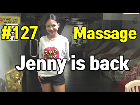 Phuket Thailand Rub down Patong walking twin carriageway Thai oil therapeutic massage (Vlog127 Jenny is support)