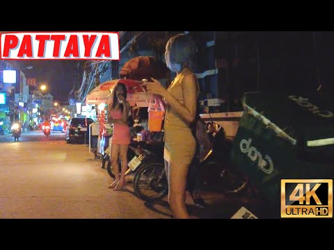 [4K] Pattaya Shuffle, Seaside Highway, Soi 8, Soi Buakhao, Pattaya Tai, Soi New Plaza