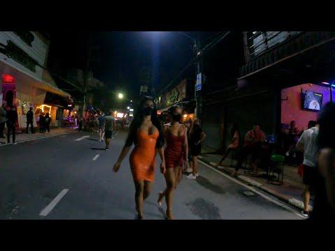 Phuket Nightlife – Bangla Walking Street Thailand Red Gentle District