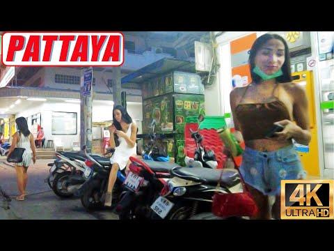 [4K] Pattaya Stroll, Soi LK, Soi Buakhao, Pattaya Tai, Pattaya Klang