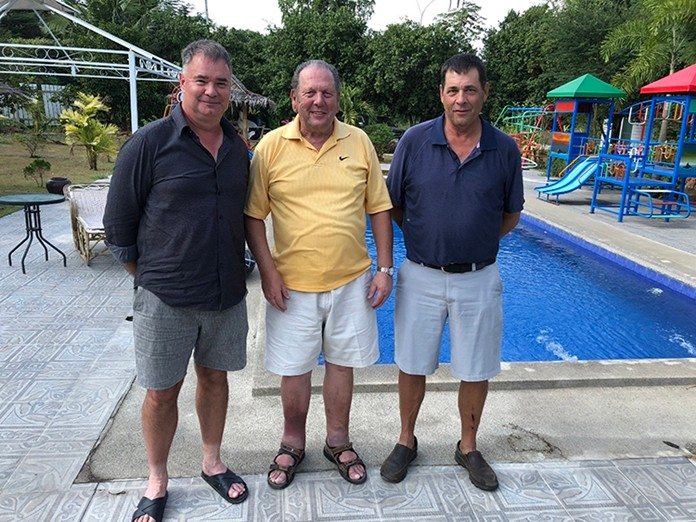 Stephen, George & Greg.