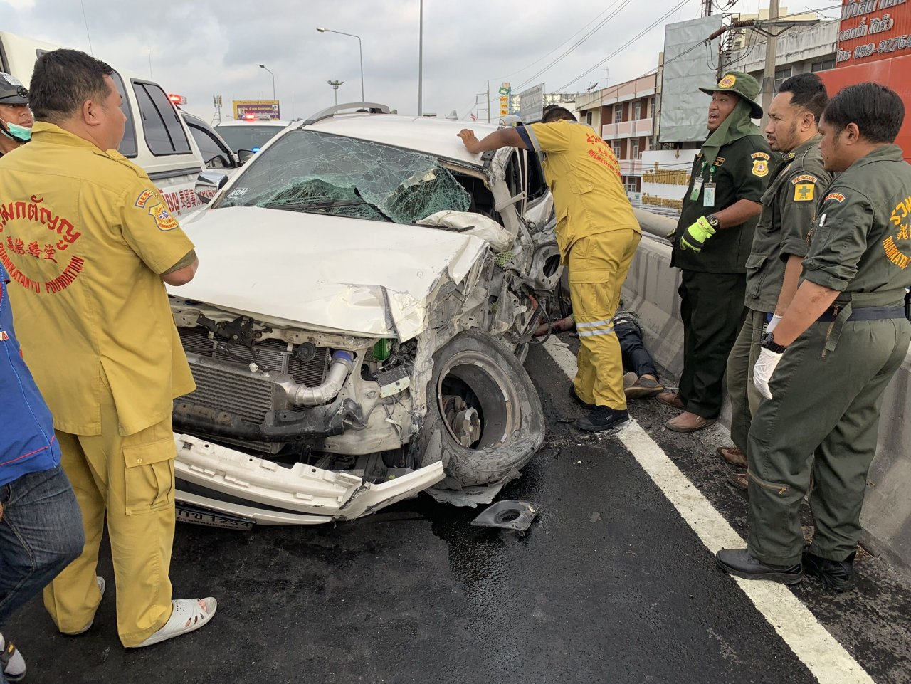 Road Carnage results for Songkran