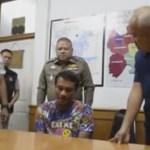 Man filmed molesting woman arrested
