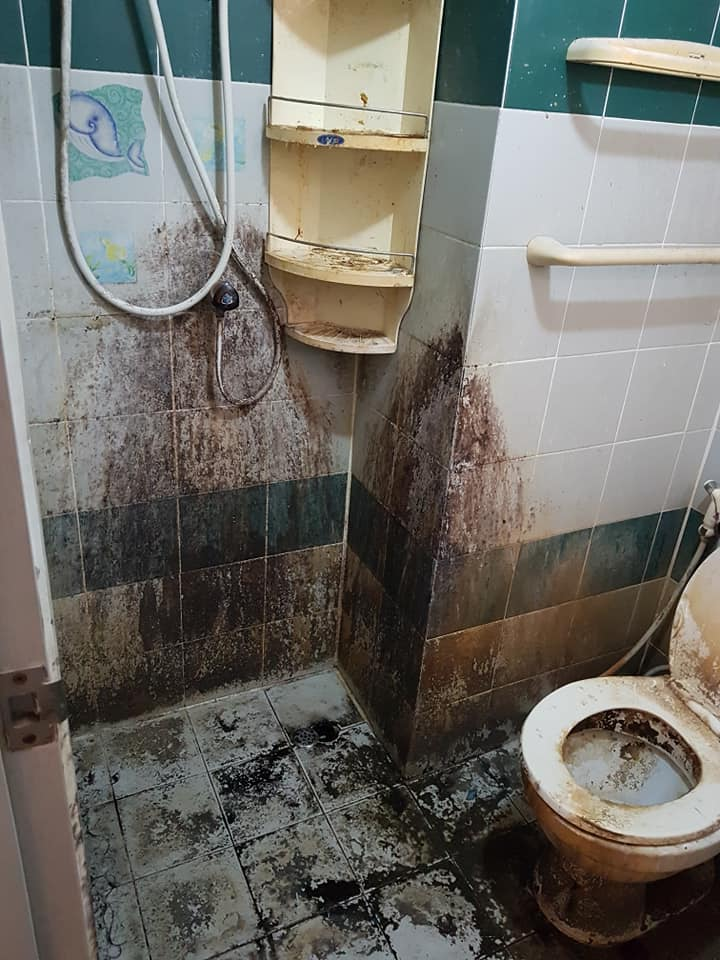 Shocked landlady posts photos of apartment as left by tenant