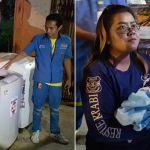 Newborn baby left alive in a WASHING MACHINE in Thailand