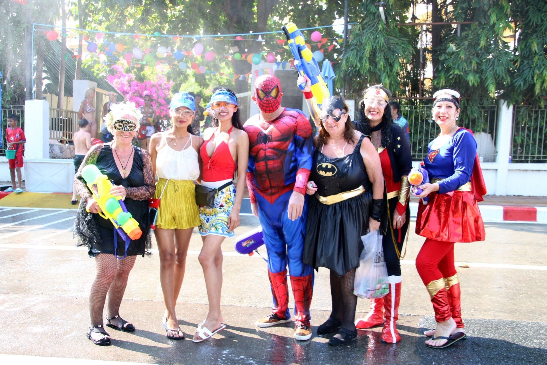 Dusit Thani Pattaya joined Pattaya City's Post-Songkran celebration 'Wan Lai
