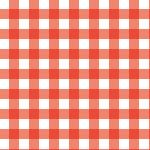 赤のギンガムチェック風のパターン