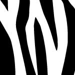 シマウマのアニマル柄、シームレスパターン