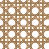 木の蔦でカゴを編みこんだようなパターン