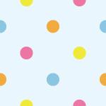 4色ドットを並べたシームレスパターン