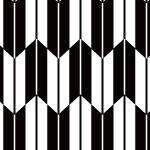和服の柄として多く使われる矢絣(やがすり)のパターン
