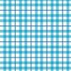 水色のチェック柄パターン