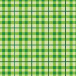 緑色のギンガム風チェック柄パターン